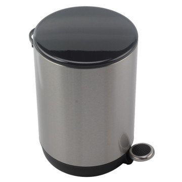 Mini Trash Can with Lid Soft Close