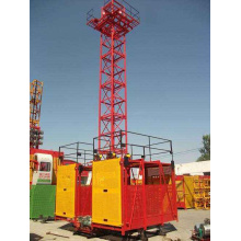 China for Hoist Material Elevator SS Simple High Quality Rack Materials Hoist Lift export to Algeria Importers