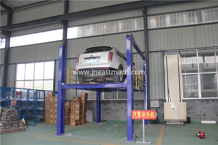 Movable Double Post 2column Automobile Lift For Car Repairing Shop Lifing Machine