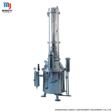 Short Lead Time for for Electric Water Distiller Double water distiller distillation column equipment export to Angola Factory