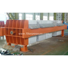 High Efficiency Pottery Clay Chamber Filter Press