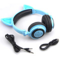 Kids Cat Ear Headphone Promotional Stylish Wireless Headsets