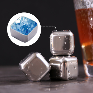 Stainless Steel Wine Whiskey Stone for Cooling Drinks