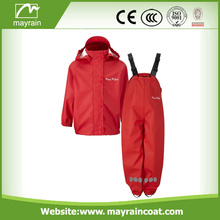 100% Original Factory for china High Quality Polyester Raincoat, kids plastic Raincoats,Kids Rainsuit factory Kid Polyester Rain Jacket Rain Pants OEM supply to Gambia Factories