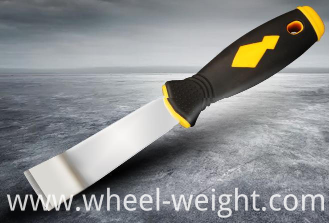 adhesive wheel weight knife