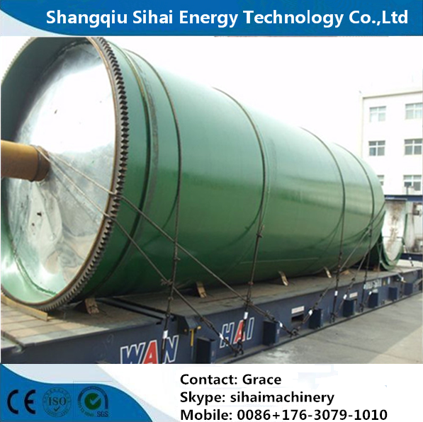 12 Months Warranty Tire Recycling To Oil Machine