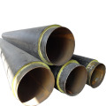 Black HDPE jacket Insulation Seamless Steel Pipe