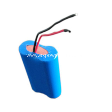 Hot Sell 18650 1S2P 3.7V 7500mAh Lion Battery