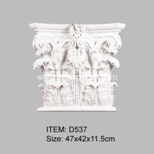 Good Quality for Pilaster Bases Roman Corinthian Capital for PU Pilasters supply to India Importers