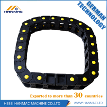 Best quality Low price for Open Both Side Drag Chain Semi-closed  Plastic Cable Drag Chain End Connectors export to Palau Manufacturer