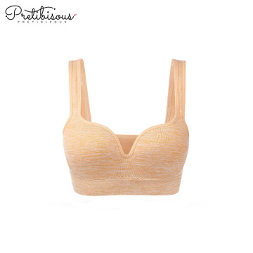 Comfortable wireless bra soft cup T-shirt bra