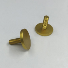 Gold Anodized Aluminum Parts