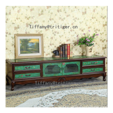 New Design Home Furniture Customized 100% Solid Wood Storage Cabinets