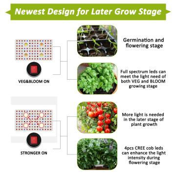 හොඳම COB LED Grow Lights Hot Sale
