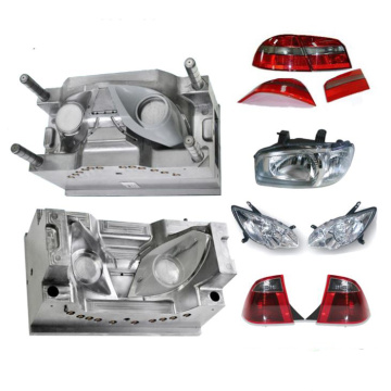 Automotive Left and Right Headlight Plastic Moulds