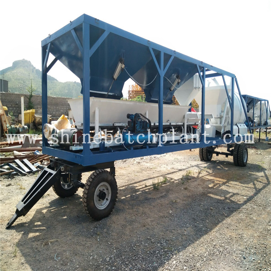 20 Mobile Concrete Batching Plants