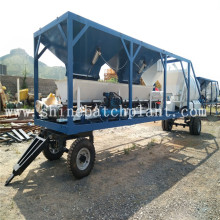 Popular Design for Small Mobile Concrete Plant 20 Wet Mixed Concrete Mobile Plants supply to Martinique Factory