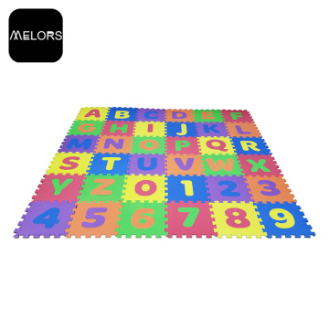 Alphabet&Number Puzzle Mat Kids Educational Baby Play Mat