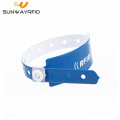 RFID MF S50 Disposable PVC Wristband