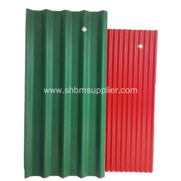 Fire Resistant Glazed Magnesium Oxide Roof Sheet