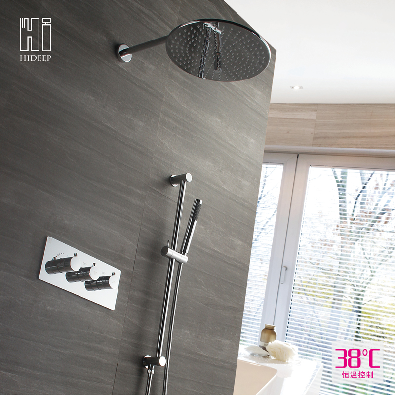 Thermostatic shower mixer