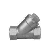 China for China Investment Casting Valve,Drain Valves,Din2999 Threaded Valves,Lost Wax Valves Supplier 2 inch stainless steel valve Y-Strainer export to Indonesia Factories