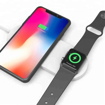 Wireless Charger Fast Dual Charging Apple iPhone iWatch