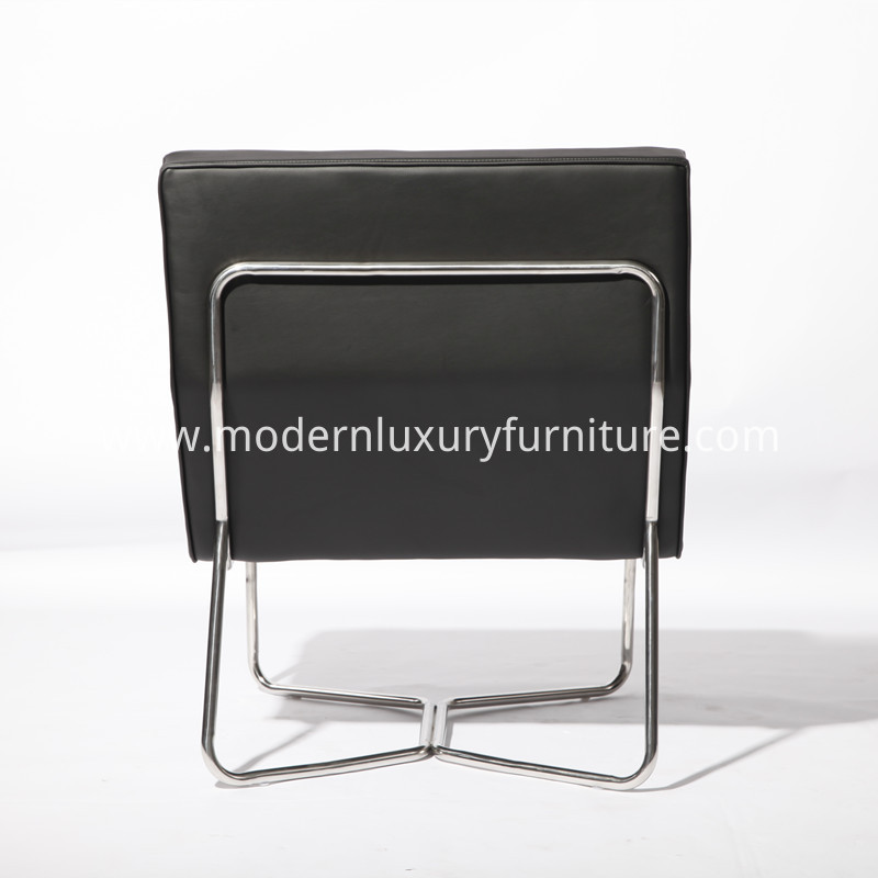 Leather Armless Chair