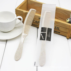 Hotel degradable wheat straw comb