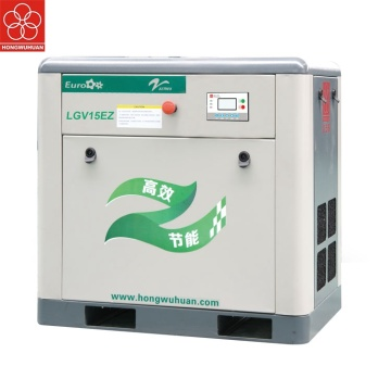 15kw variable frequency screw air compressor for painting