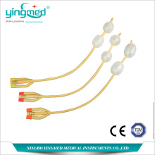 China for Disposable Nelaton Catheter 3-way Double Balloons Foley Catheter export to Bosnia and Herzegovina Manufacturers