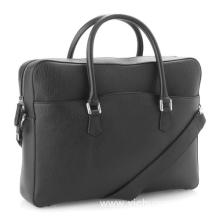 High fashion brand bag genuine leather men briefcase