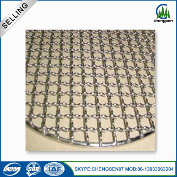 Corrosion Resistance Weaving Patterns Crimped Pizza Mesh