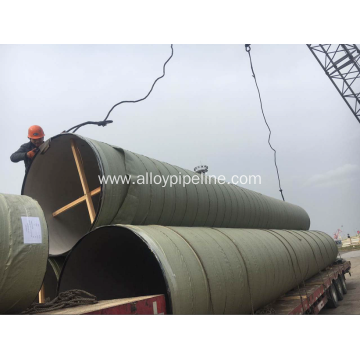 ASTM A790 S32205 Duplex Steel Welded Pipe