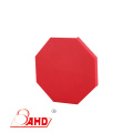 Red Textured HDPE plastic sheet