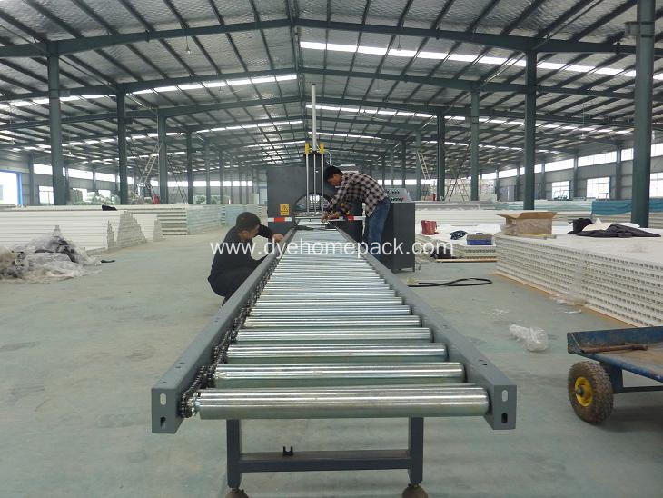 Automatic Door Horizontal Stretch Film Wrapping Machine