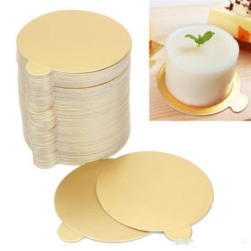 Top Quality for Container Lids Bakery Cake Paper Board Foil Paper supply to Chile Wholesale