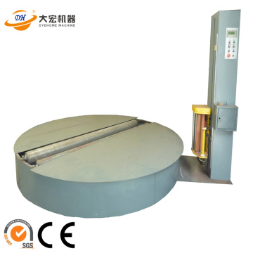 Auto fabric roll packing machine