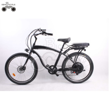 black 26 inch 750w men's beach electric bike