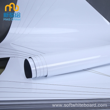 Cheap Whiteboard Magnetic White Roll Roll Up