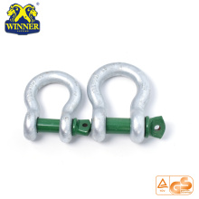 High Quality for Galvanized Shackles Galvanized Steel Shackles With 2T export to Marshall Islands Importers