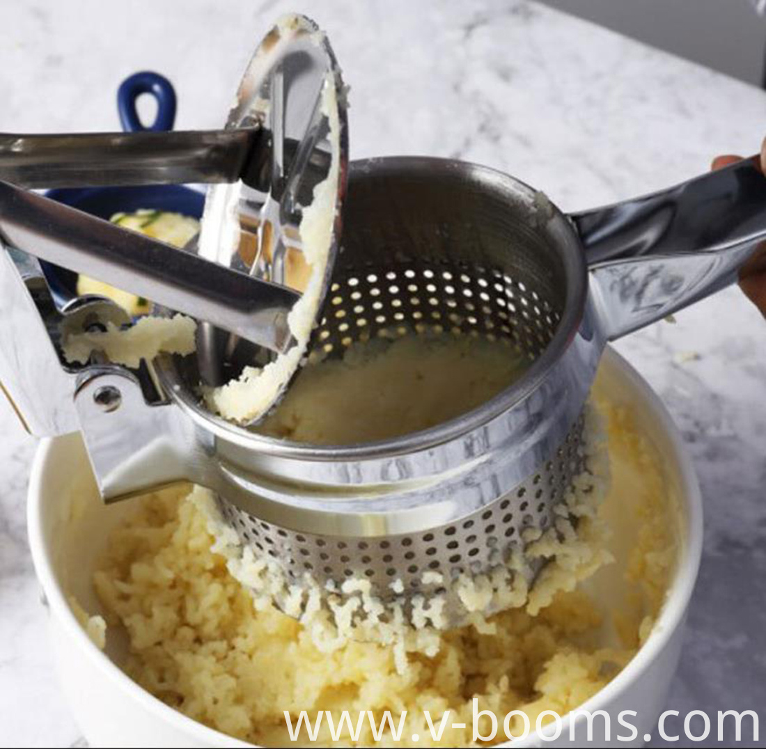 Kitchen Cooking Stainless Steel Potato Masher