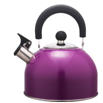 3.0L Stainless Steel color painting Teakettle purple color
