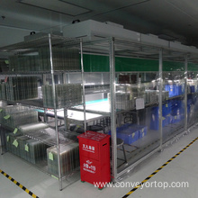 Cheapest Factory for Air Shower Clean Room for Mobile Phone LCD Touch Screen supply to Poland Manufacturers