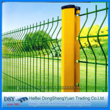 PVC Coat Curved Wire Mesh Fence