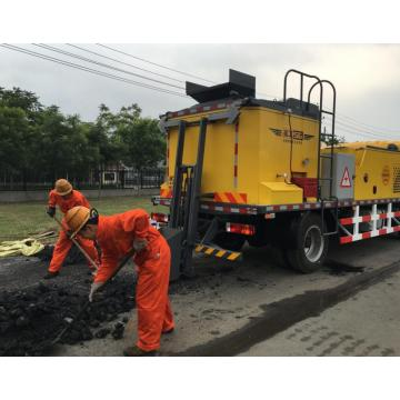 high quality truck mounted hot asphalt recycling equipment
