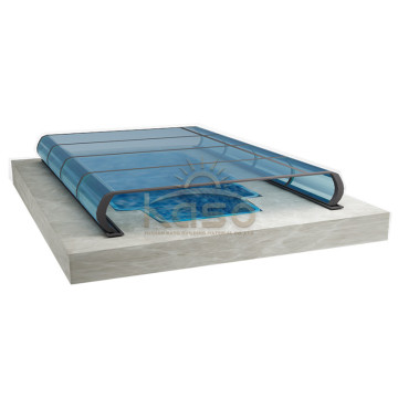 High Quality for China Swimming Pool Enclosures,Retractable Pool Enclosure,Retractable Swimming Pool Enclosures Manufacturer Patio Enclosure Pool Cover Commercial Retractable Roof export to San Marino Manufacturers