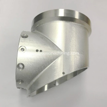 Custom CNC Machining Aluminum Tee Joint