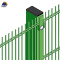 PVC Coated Flat Double Wire Fence
