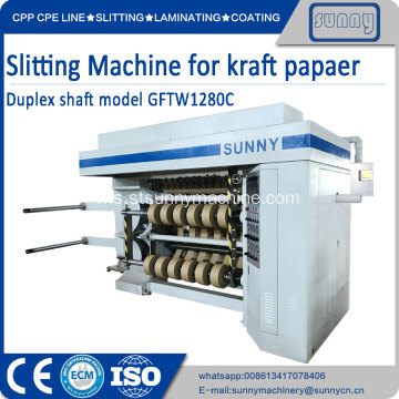 Kertas slitting rewinding machine